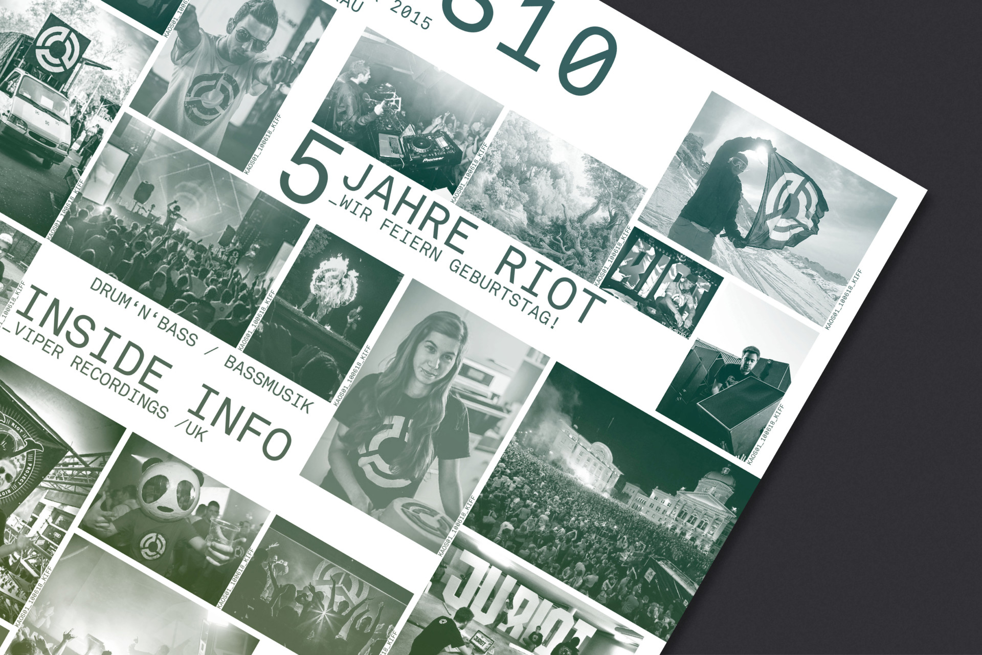 Steiner Grafik Corporate Design: Project Riot
