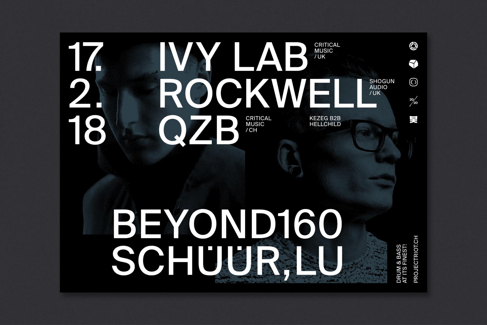 Steiner Grafik Plakatreihe: Beyond160