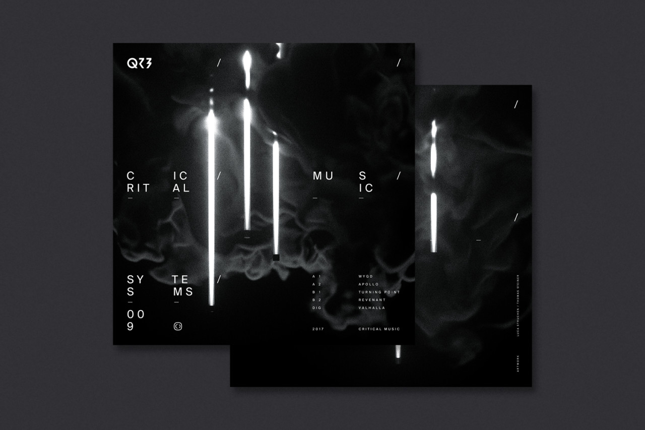 Steiner Grafik Corporate Design: QZB (Critical Music)